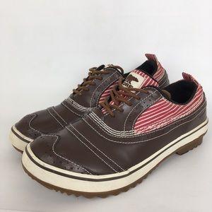 Sorel Lace Up Shoes Woman's Size 9